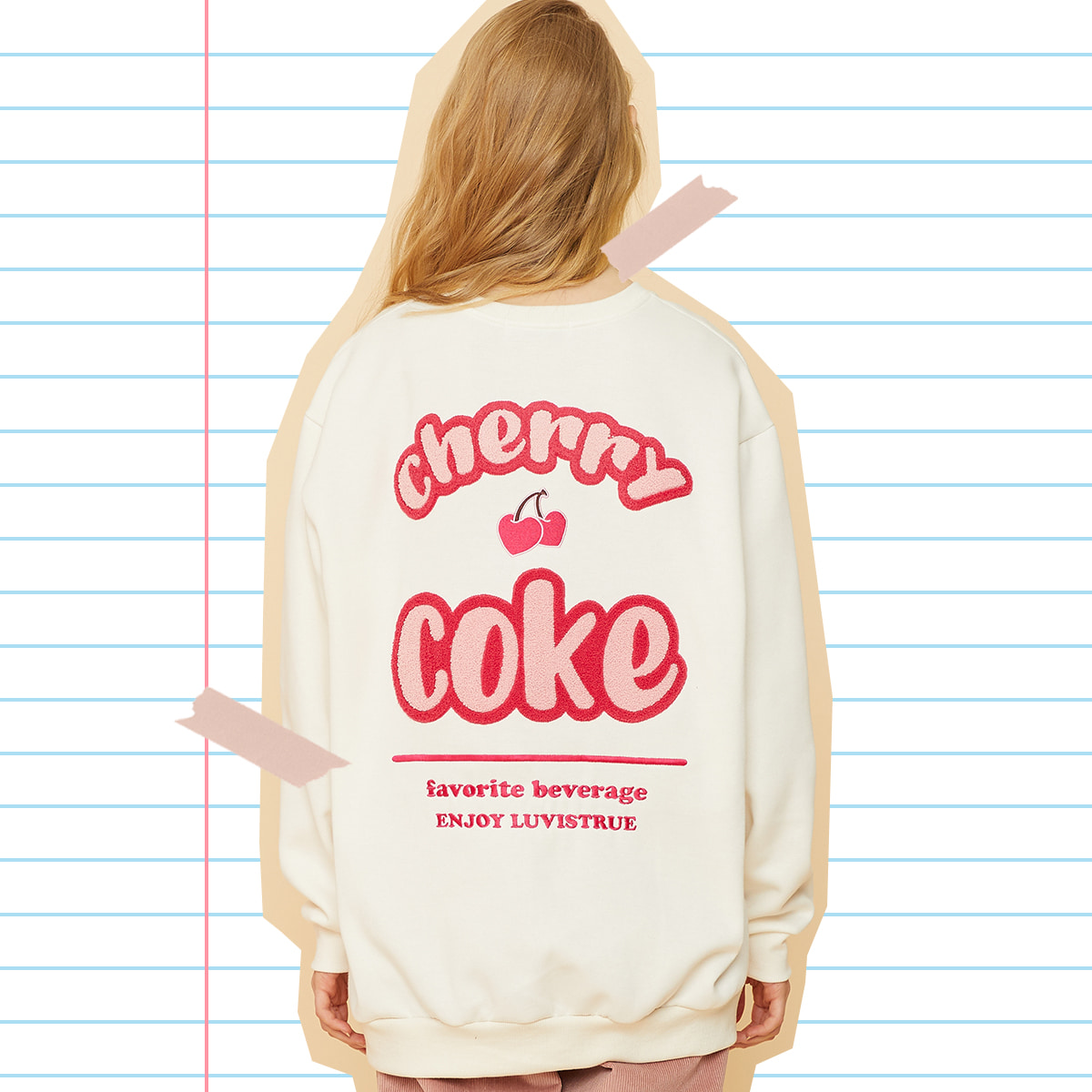 MD CHERRY COKE MTM(IVORY)