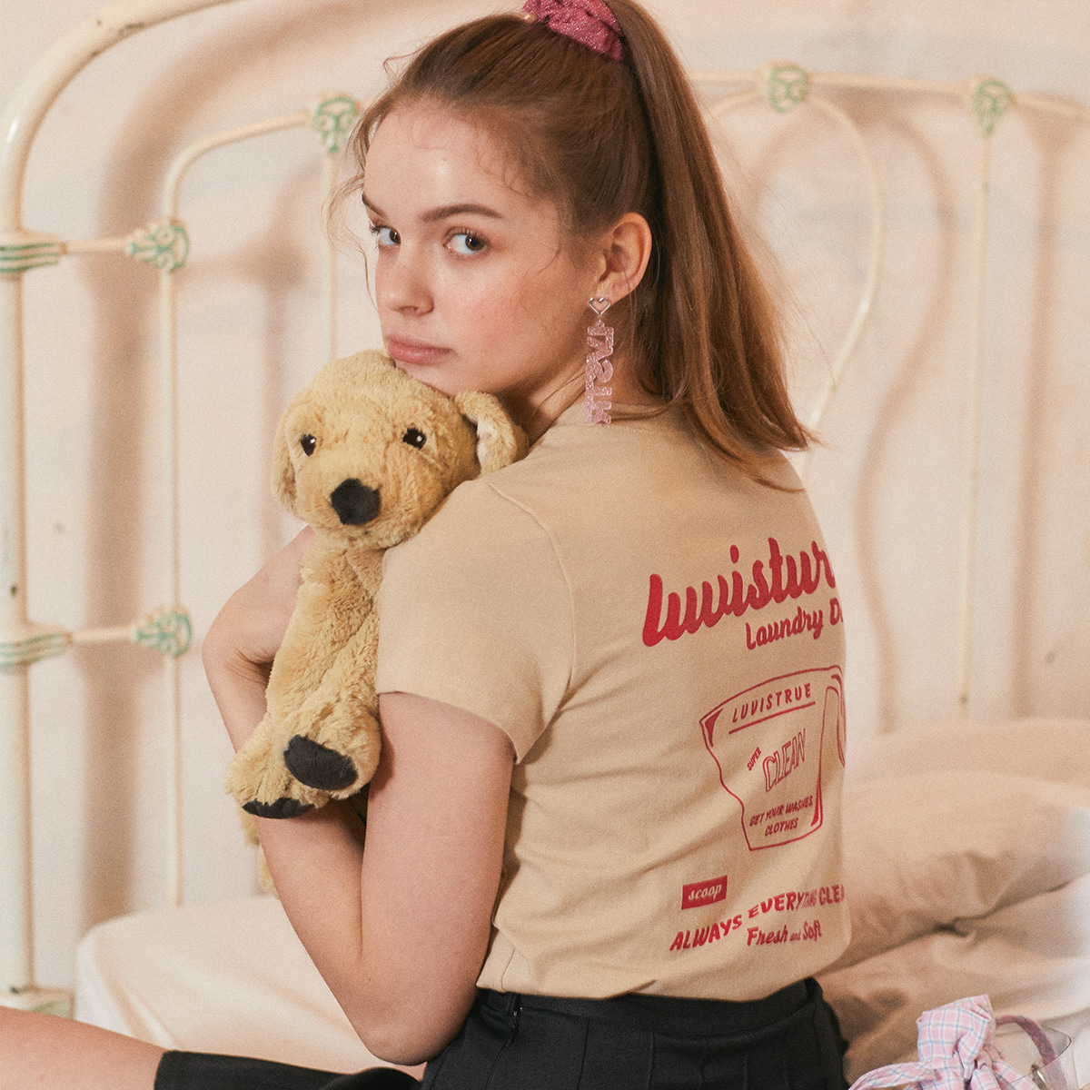 LU SCOOP T (BEIGE)