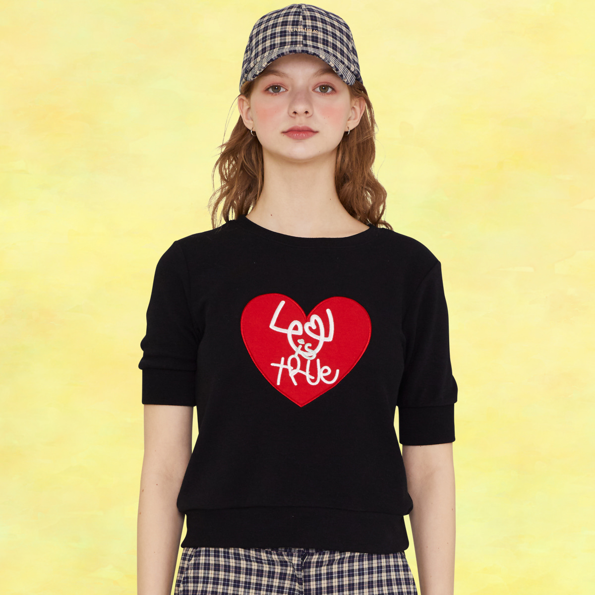 SZ HEART MTM(BLACK)
