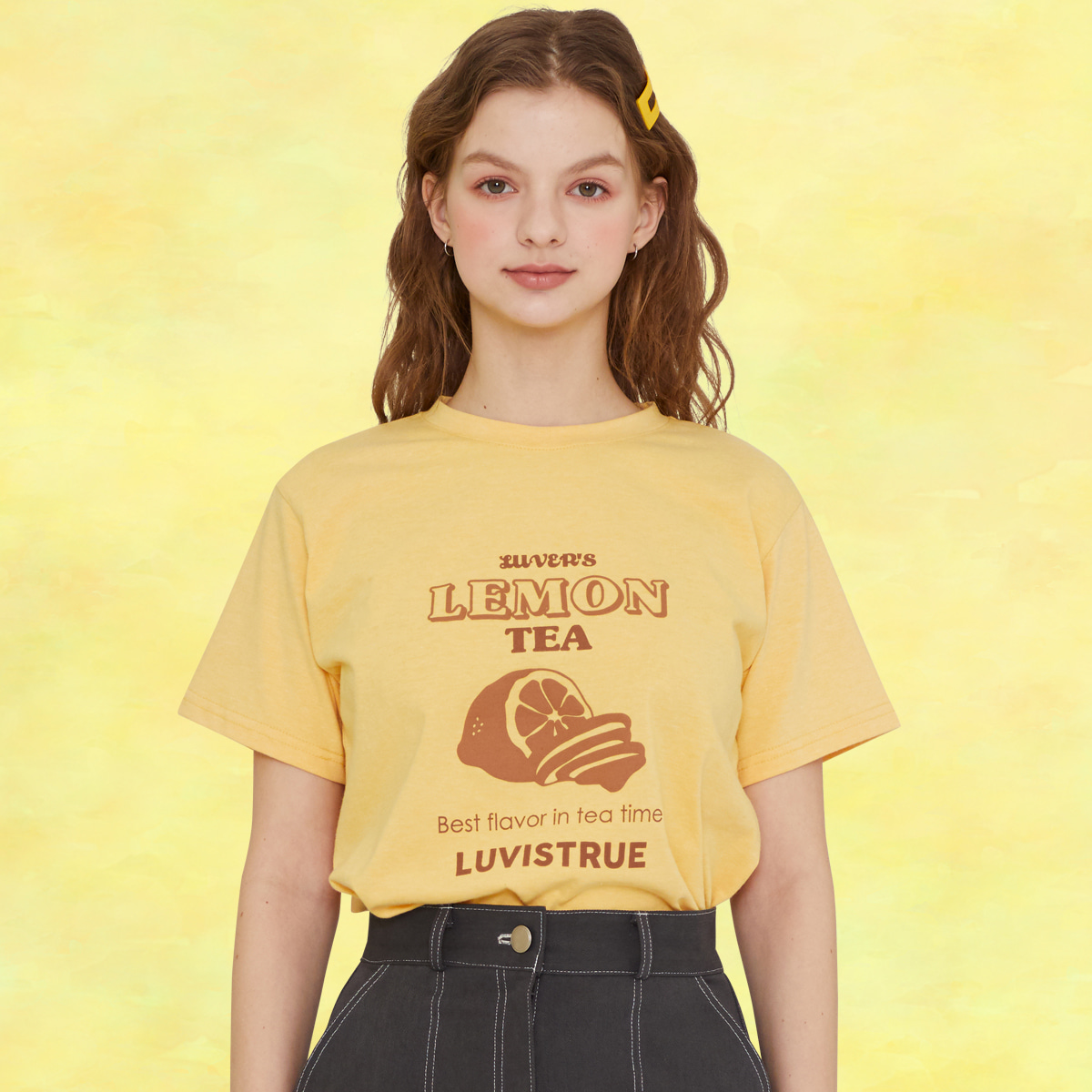 SZ LEMON T-SHIRT(YELLOW)