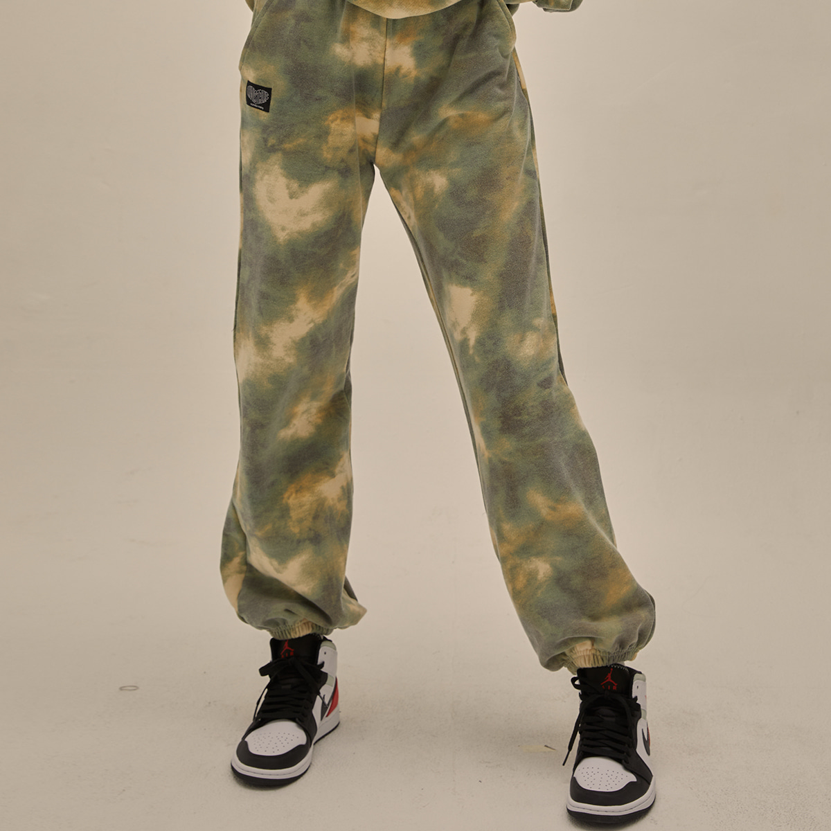 PO TRAINING SET PANTS(KHAKI)