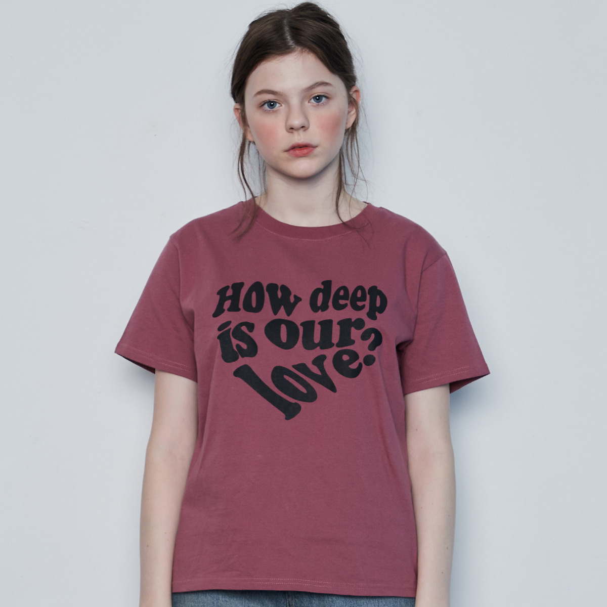 IN LOVE TEE(PINK)